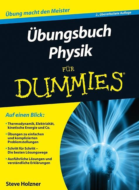 Übungsbuch Physik für Dummies als Buch von Steven Holzner