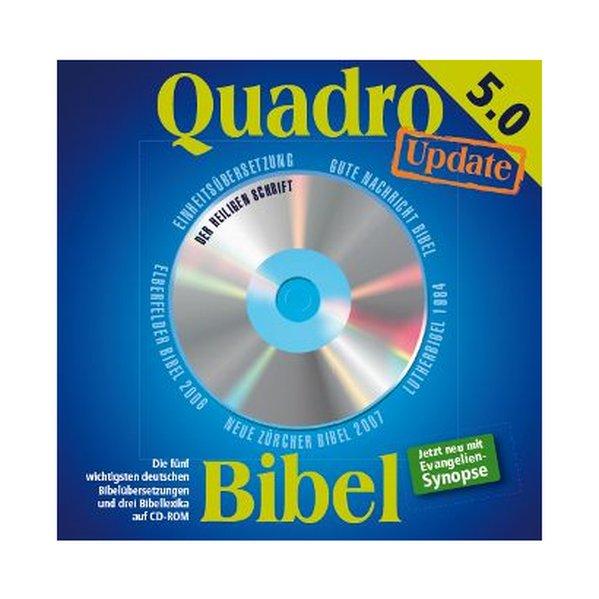 Quadro-Bibel Update auf Version 5.0 als Software von