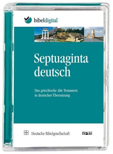 Septuaginta Deutsch. als Software von