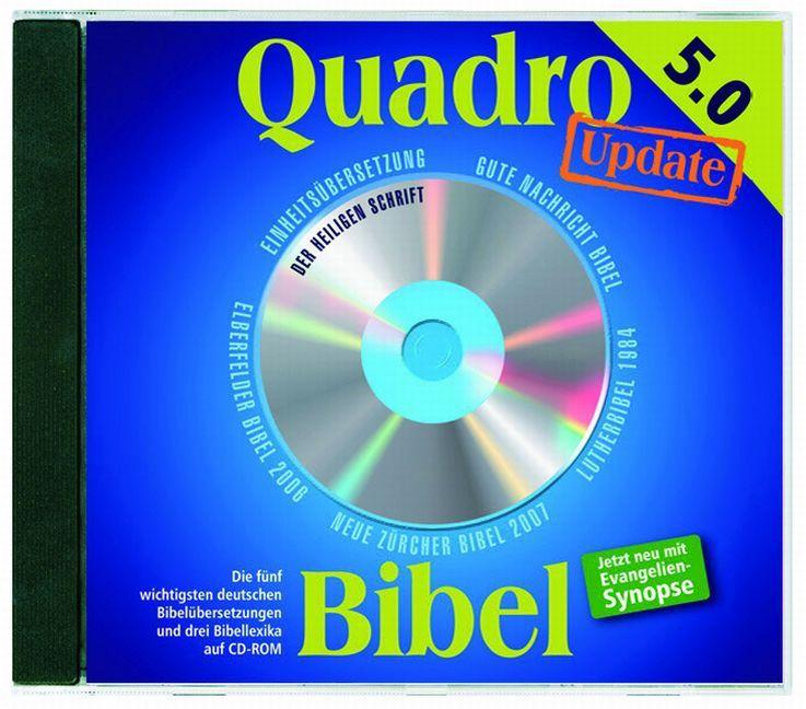Quadro-Bibel 5.0 - Update als Software von