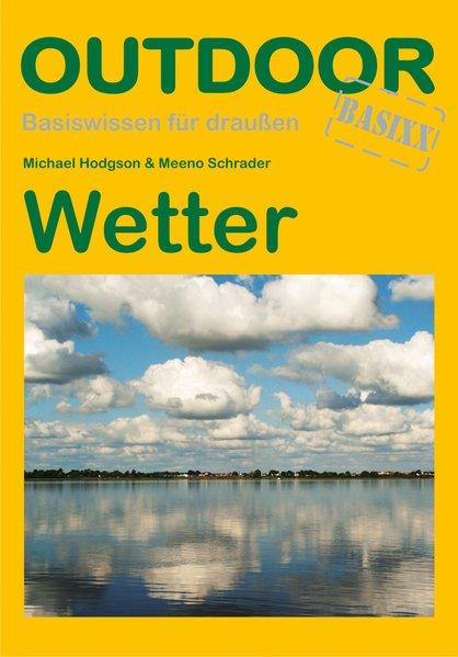 Wetter als Buch von Michael Hudgson, Meeno Schrader