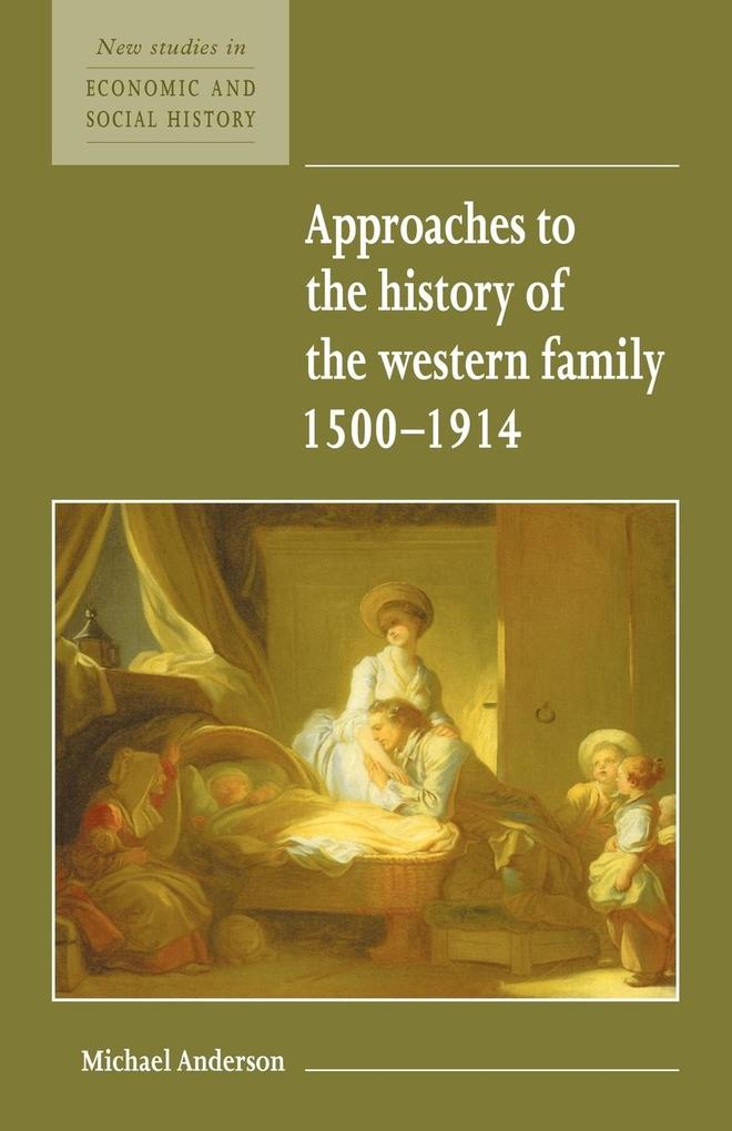 Approaches to the History of the Western Family 1500 1914 als Buch