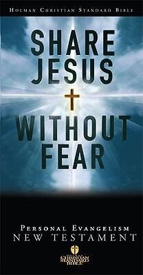 Share Jesus Without Fear New Testament-Hcsb als Buch