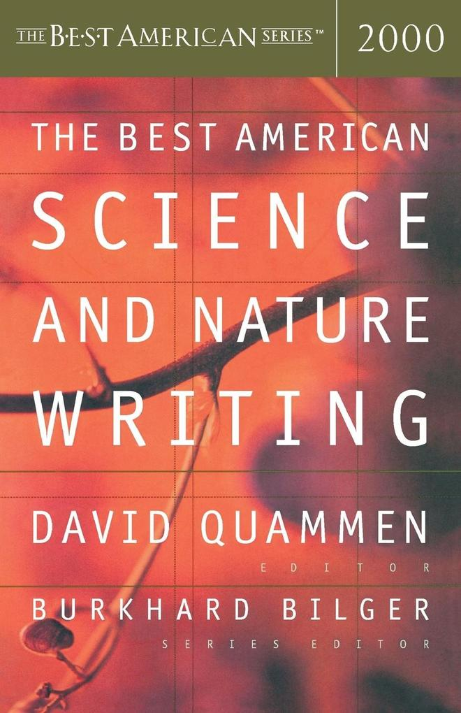 The Best American Science and Nature Writing als Taschenbuch