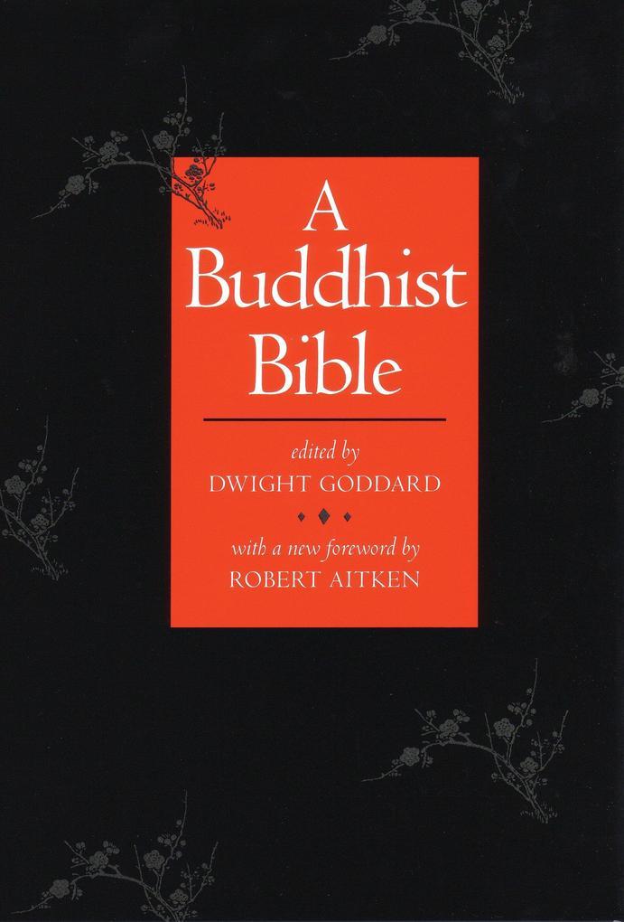 A Buddhist Bible als Taschenbuch