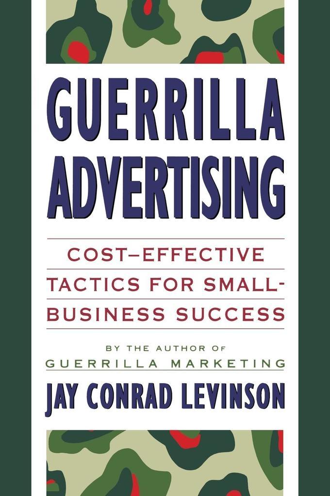 Guerrilla Advertising als Taschenbuch