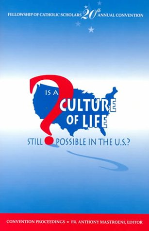 Is a Culture of Life Still Possible in the U.S.? als Taschenbuch
