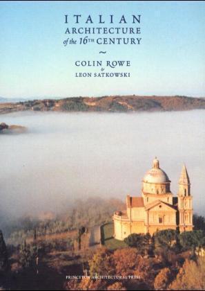 Italian Architecture of the 16th Century als Buch