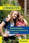 Deutsch. Musteraufsätze – erläutert und kommentiert