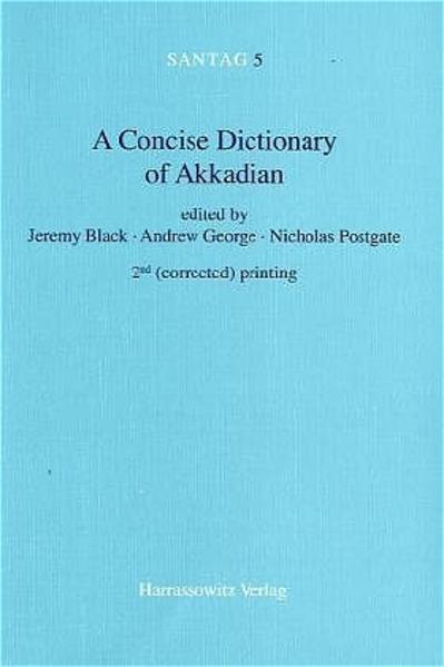 A Concise Dictionary of Akkadian als Buch