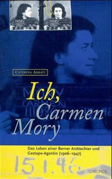 Ich, Carmen Mory als Buch