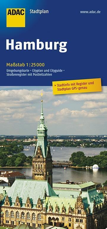 ADAC Stadtplan Hamburg 1 : 25 000 als Buch
