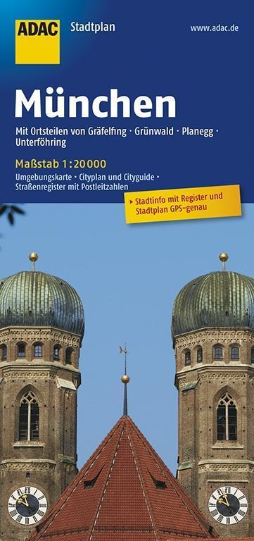 ADAC Stadtplan München 1 : 20 000 als Buch