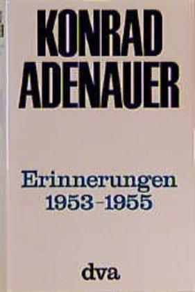 Erinnerungen 1953-1955 als Buch