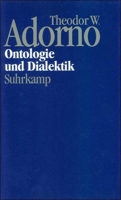 Ontologie und Dialektik als Buch