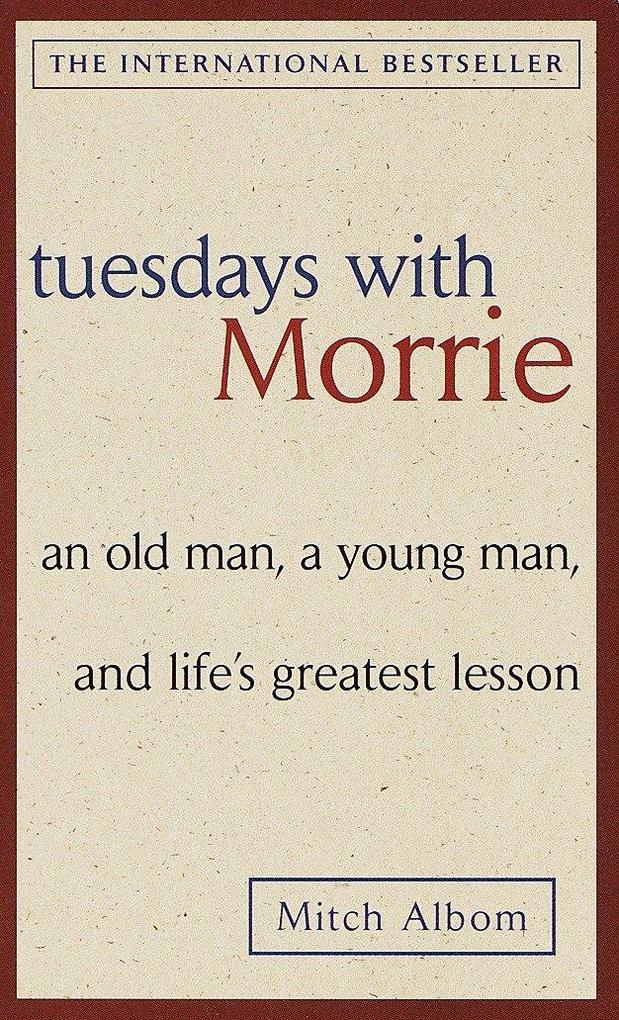 Tuesdays with Morrie als Taschenbuch