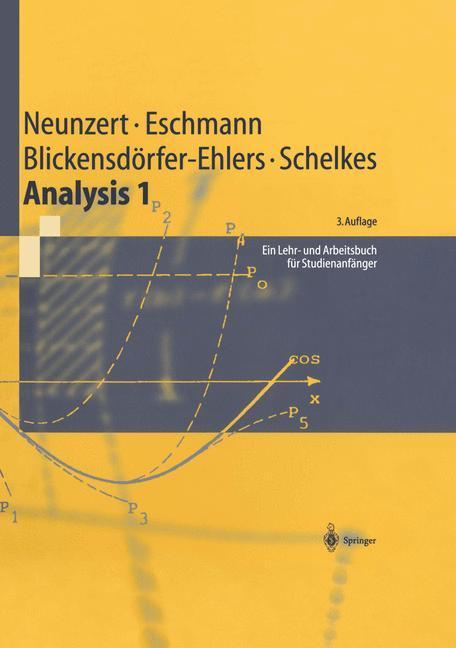 Analysis 1 als Buch