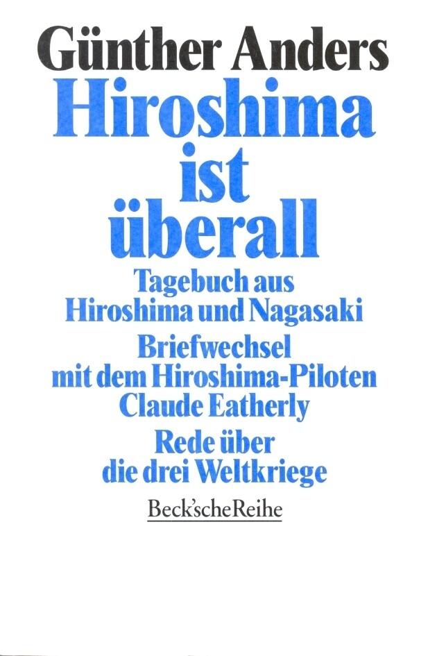 Hiroshima ist überall als Taschenbuch