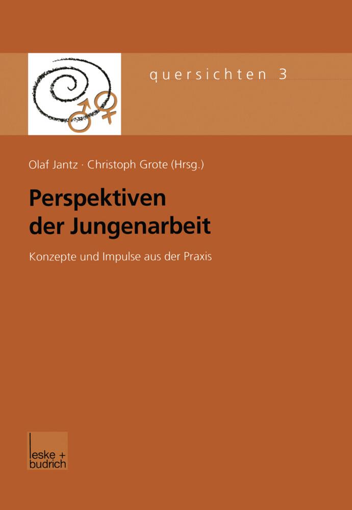 Perspektiven der Jungenarbeit als Buch