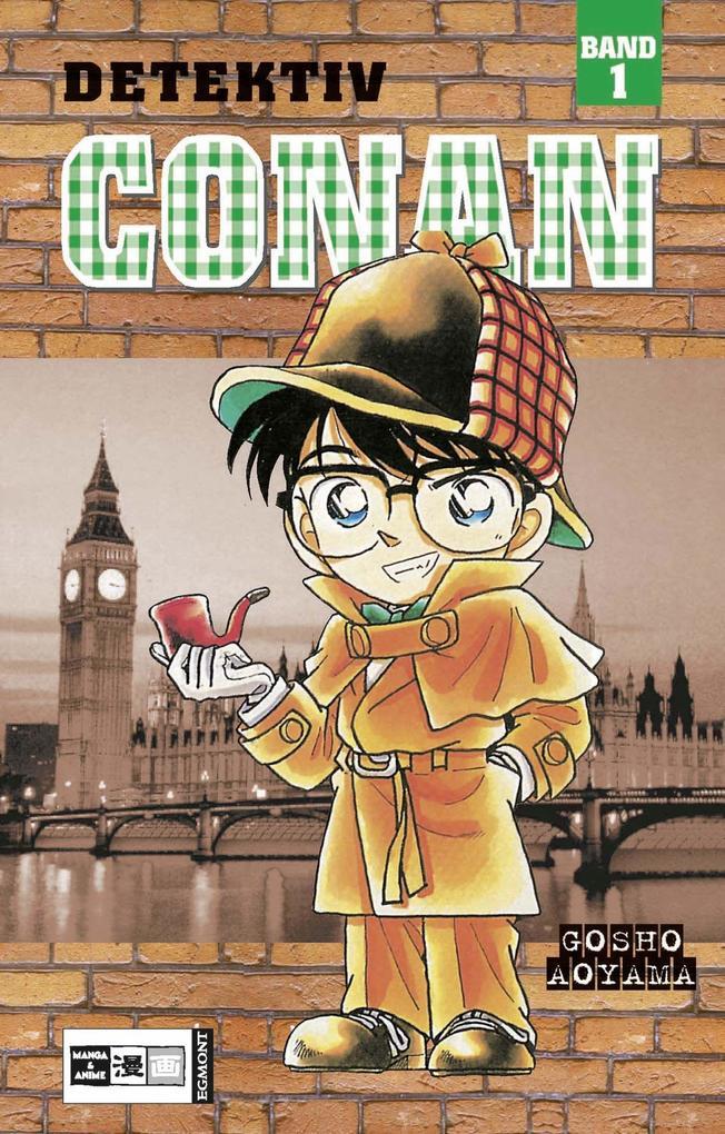 Detektiv Conan 01 als Buch