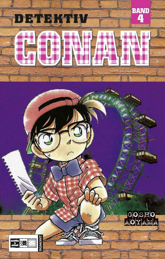 Detektiv Conan 04 als Buch