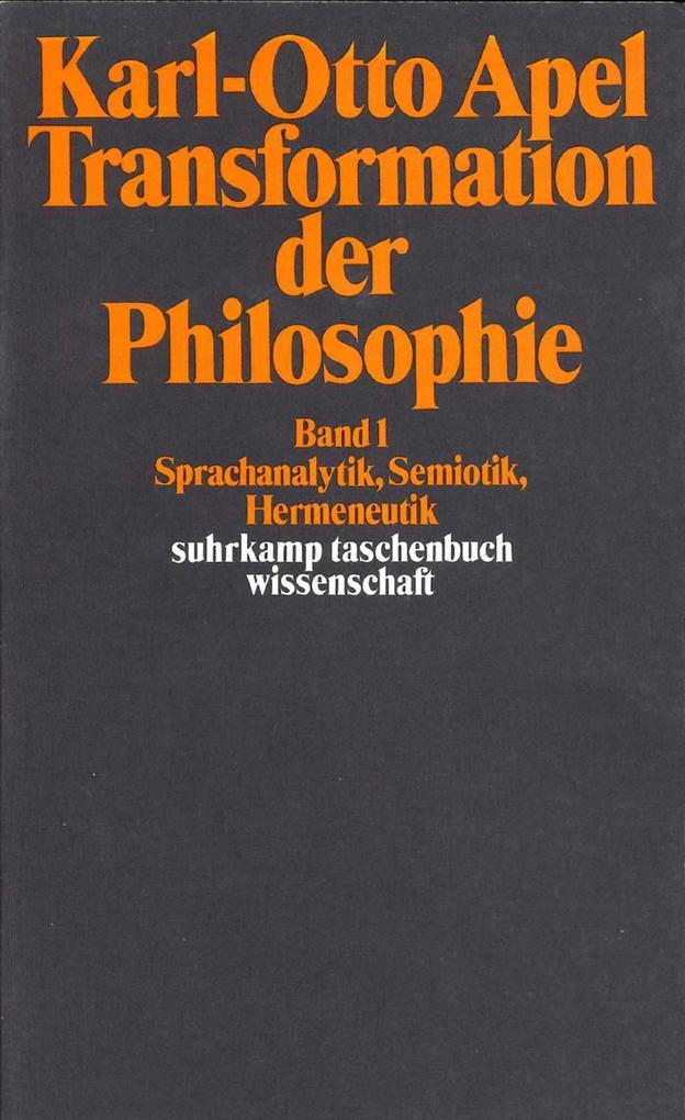 Transformation der Philosophie als Taschenbuch
