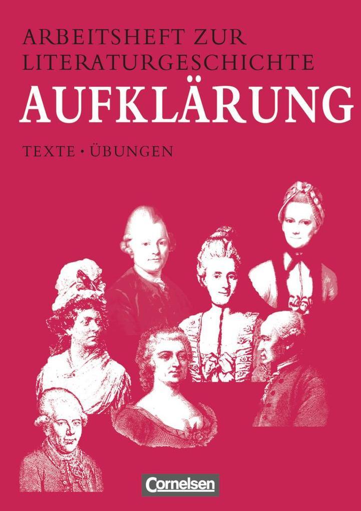 Arbeitsheft zur Literaturgeschichte. Aufklärung als Buch