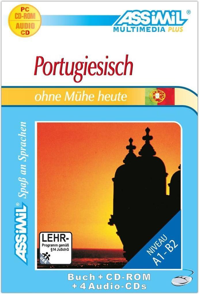 Assimil. Portugiesisch ohne Mühe heute. Multimedia-PLUS. Lehrbuch und 4 Audio CDs und CD-ROM für Win 98 / ME / 2000 / XP als Software