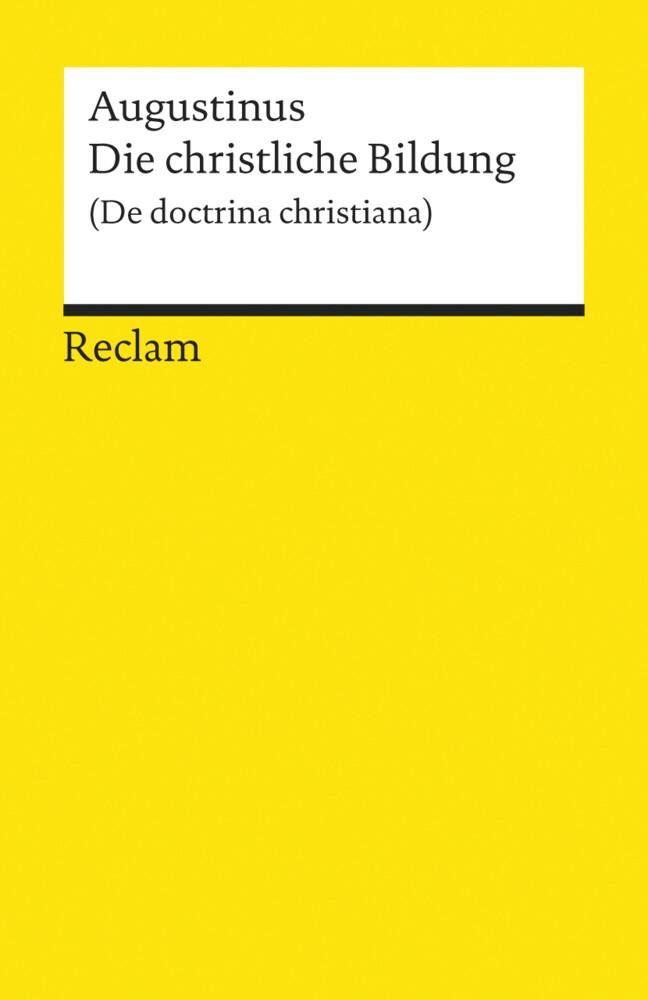 Die christliche Bildung als Taschenbuch