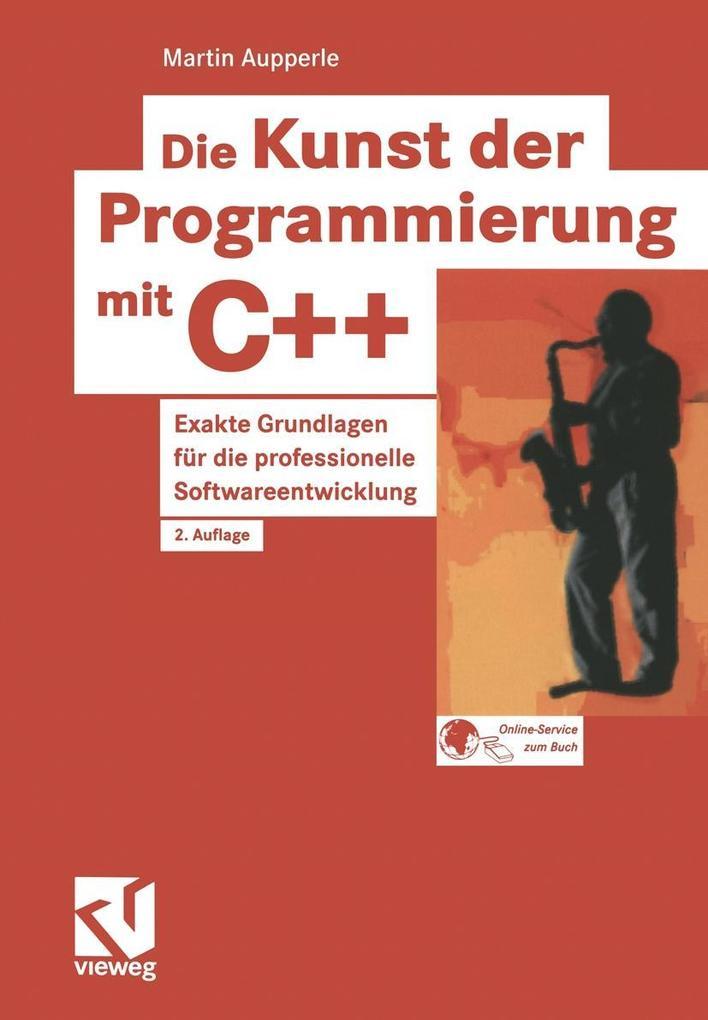 Die Kunst der Programmierung mit C++ als Buch