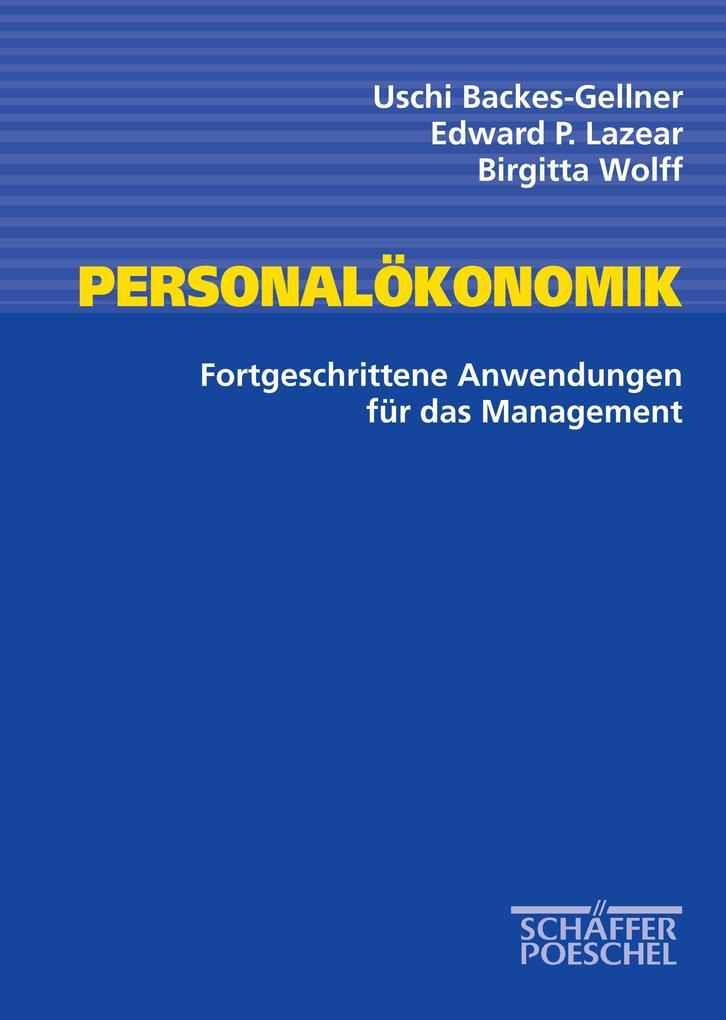 Personalökonomik als Buch