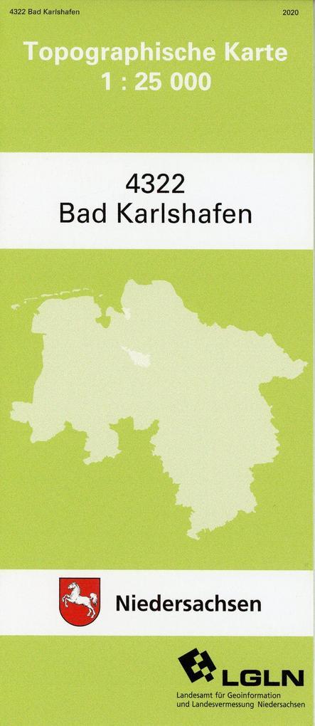 Bad Karlshafen 1 : 25 000. (TK 4322/N) als Buch