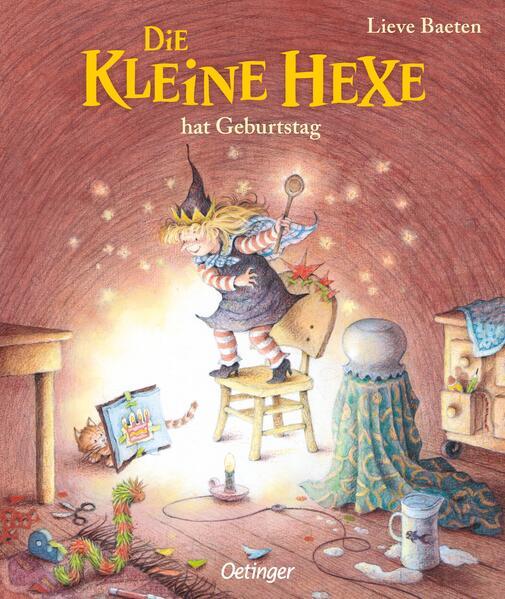 Die kleine Hexe hat Geburtstag als Buch