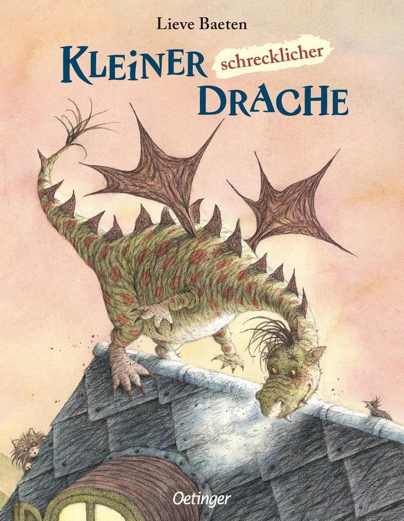 Kleiner, schrecklicher Drache als Buch