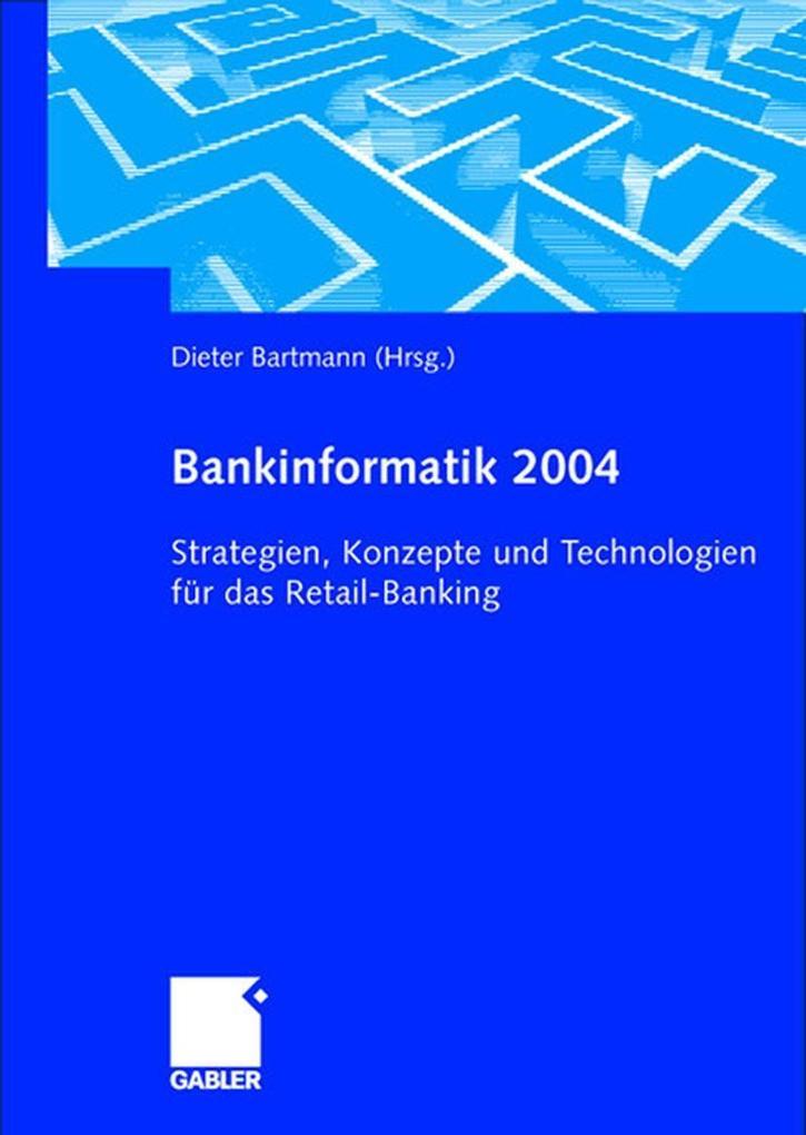 Bankinformatik 2004 als Buch