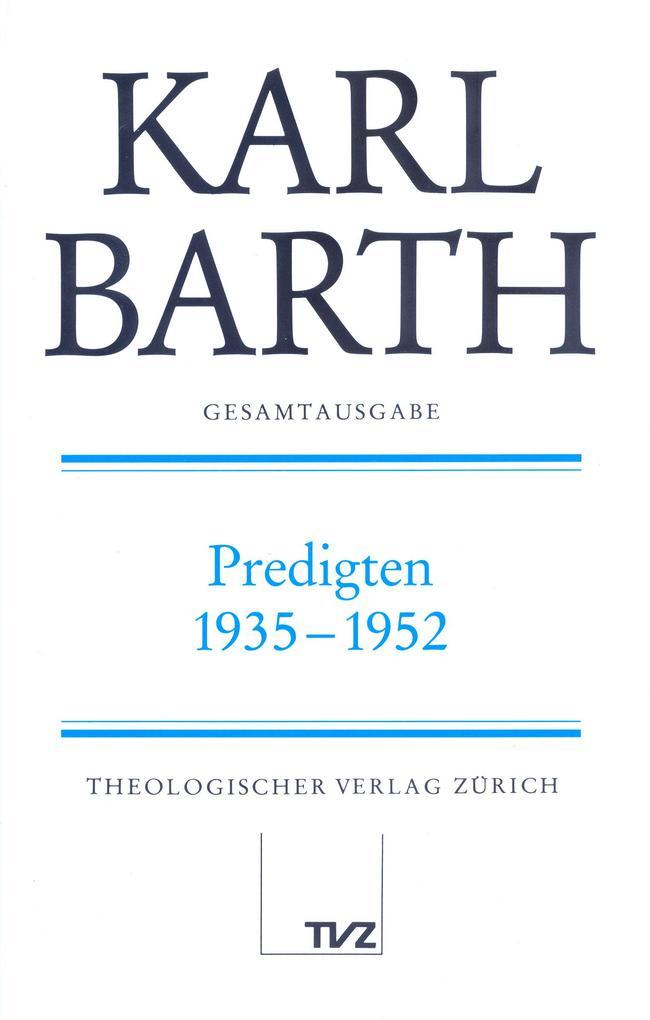 Predigten 1935-1952 als Buch
