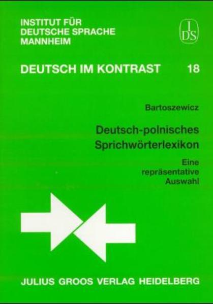 Deutsch-polnisches Sprichwörterlexikon als Buch