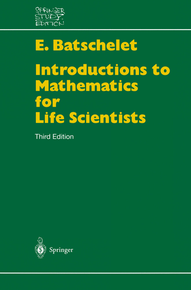 Introduction to Mathematics for Life Scientists als Buch