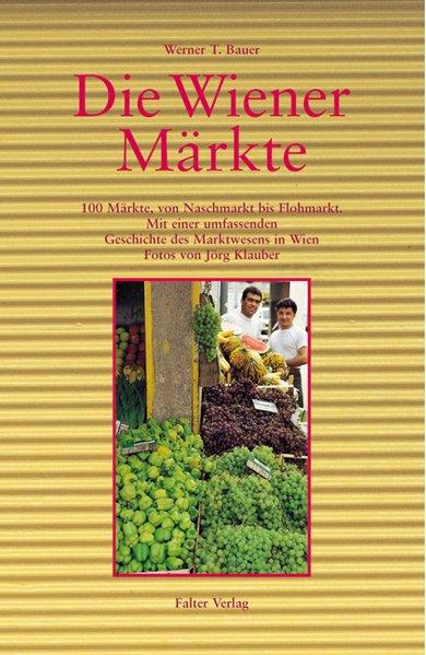 Die Wiener Märkte als Buch