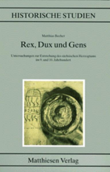 Rex, Dux und Gens als Buch