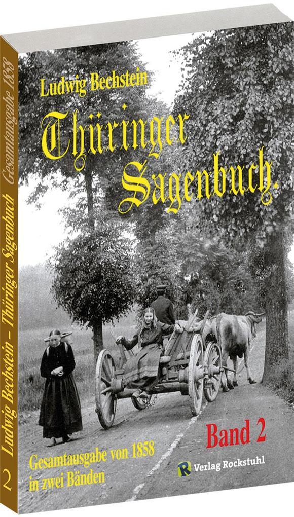 Thüringer Sagenbuch 2 als Buch