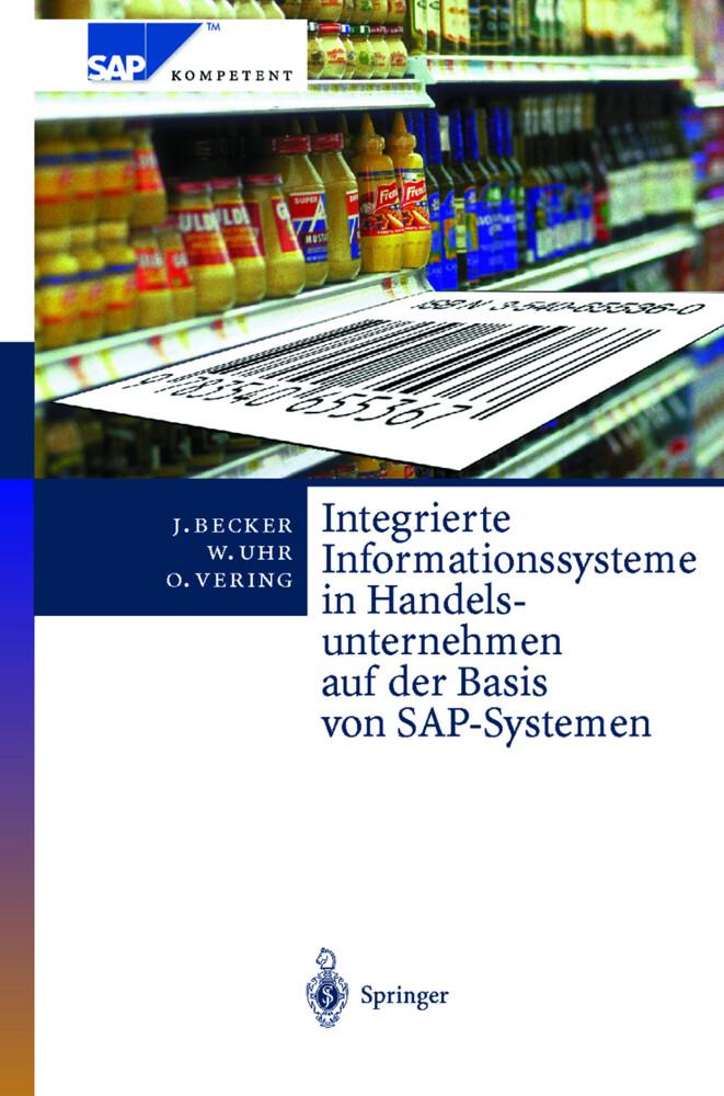Integrierte Informationssysteme in Handelsunternehmen auf der Basis von SAP-Systemen als Buch