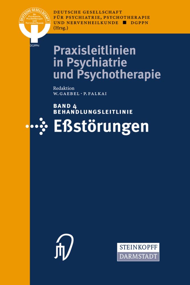 Behandlungsleitlinie Eßstörungen als Buch