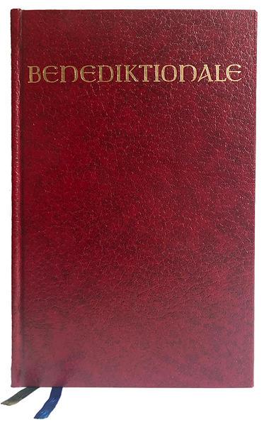 Benediktionale als Buch
