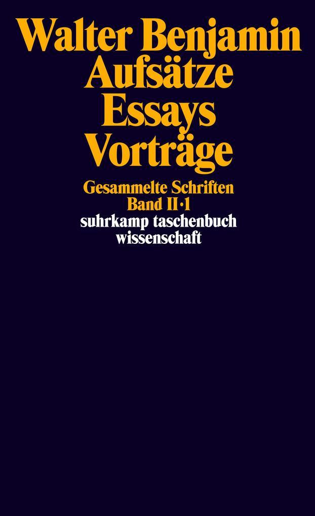 Gesammelte Schriften II. Aufsätze, Essays, Vorträge als Taschenbuch