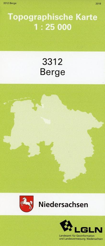 Berge 1 : 25 000. (TK 3312/N) als Buch