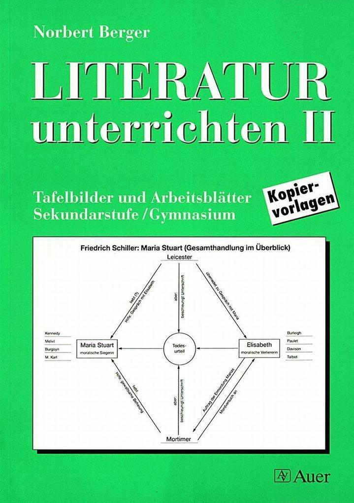 Literatur unterrichten 2 als Buch