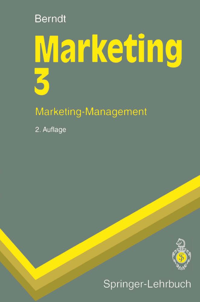 Marketing 3 als Buch