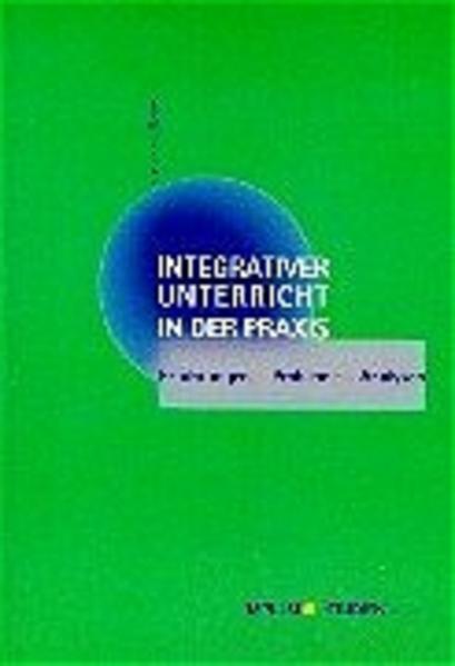 Integrativer Unterricht in der Praxis als Buch