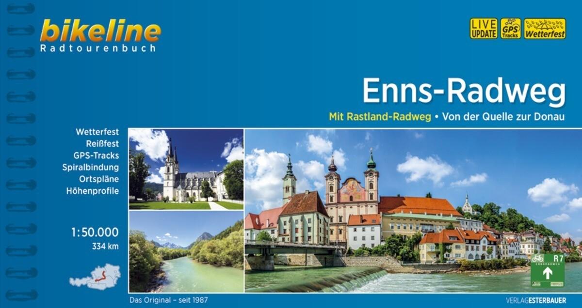 Bikeline Enns-Radweg als Buch